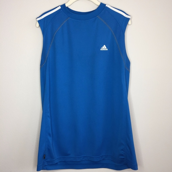 adidas Other - ADIDAS Blue Muscle Tank